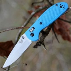 Benchmade Mini Griptilian Blue S30V
