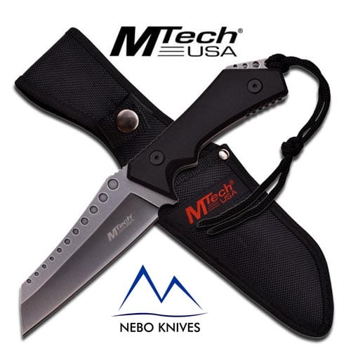 """MTech USA STONEWASHED FIXED BLADE KNIFE 10"""" OVERALL"""