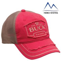Buck Pink Grey Cap