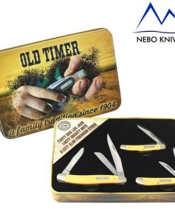 beautifully presented old timer set