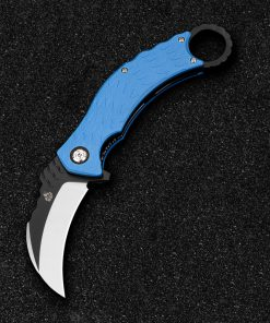 QSP Blue G10 Karambit