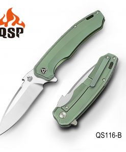 QSP Woodpecker Green Titanium