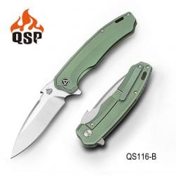 QSP Woodpecker Green Titanium